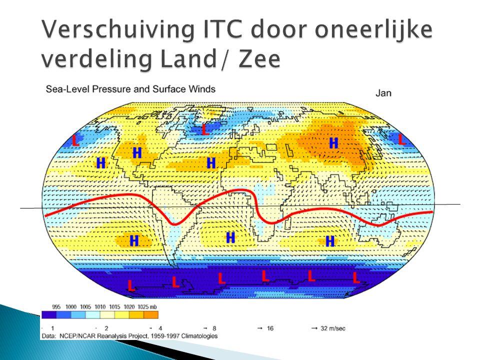 Verschuiving ITC door oneerlijke verdeling Land/ Zee