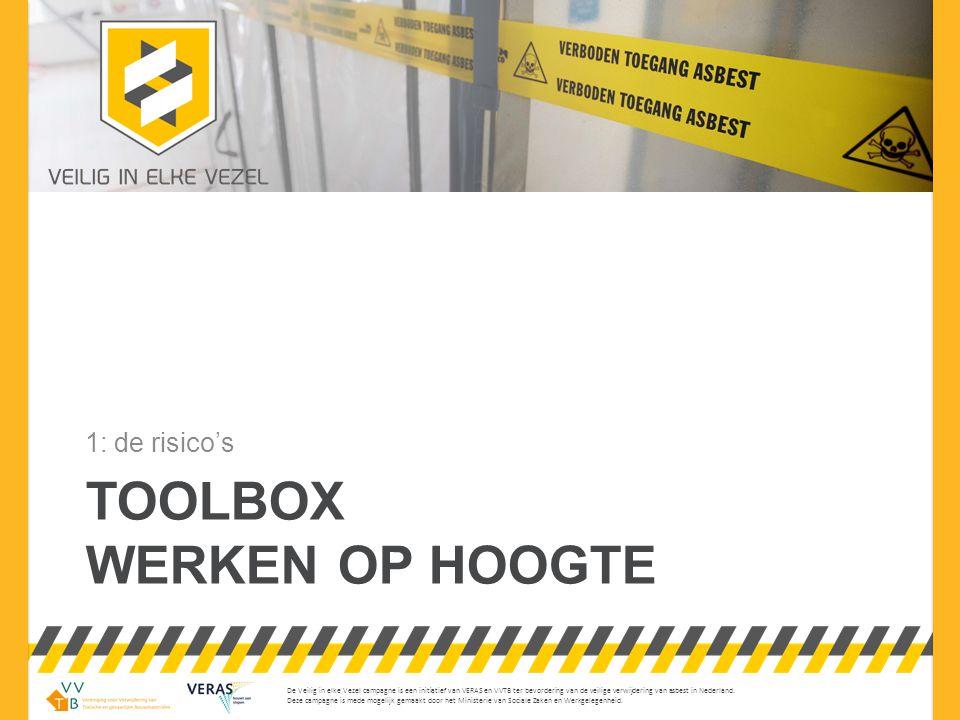Werken op hoogte toolbox