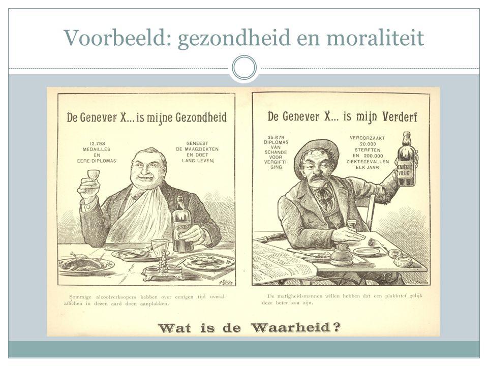 Voorbeeld: gezondheid en moraliteit