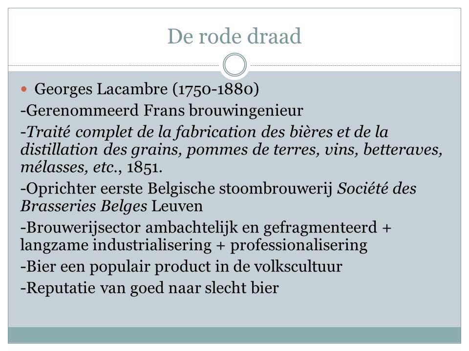 De rode draad Georges Lacambre (1750-1880)