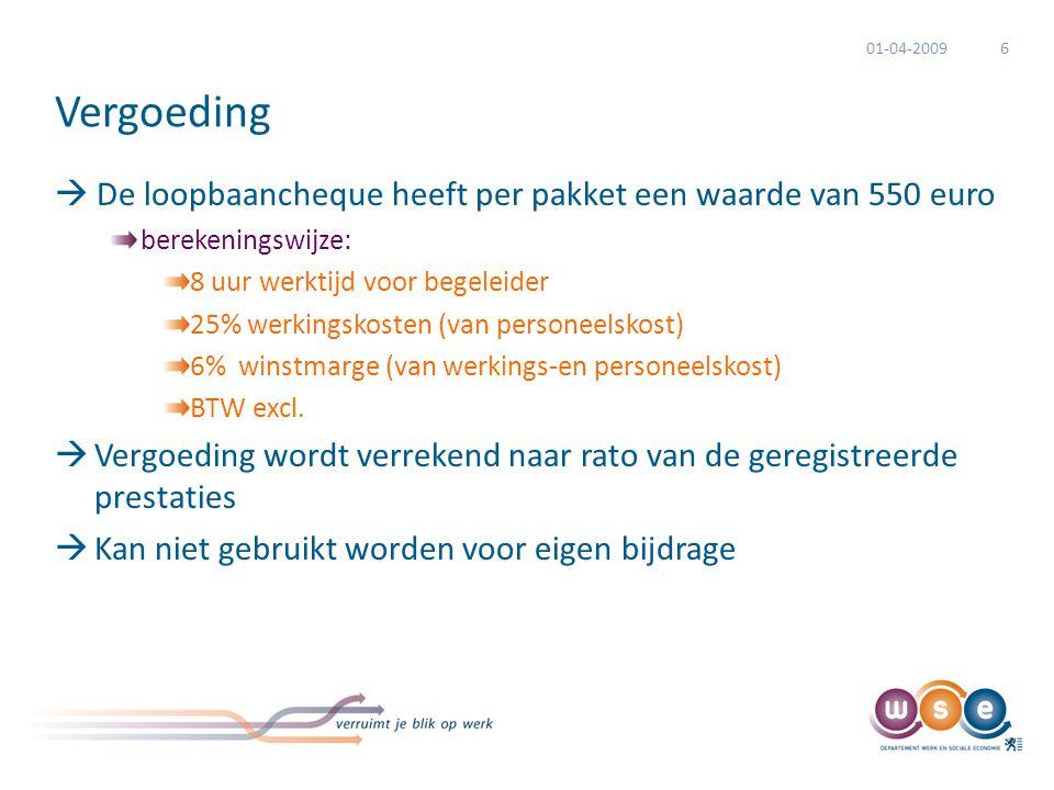 Stimuleringsfinanciering kansengroepen