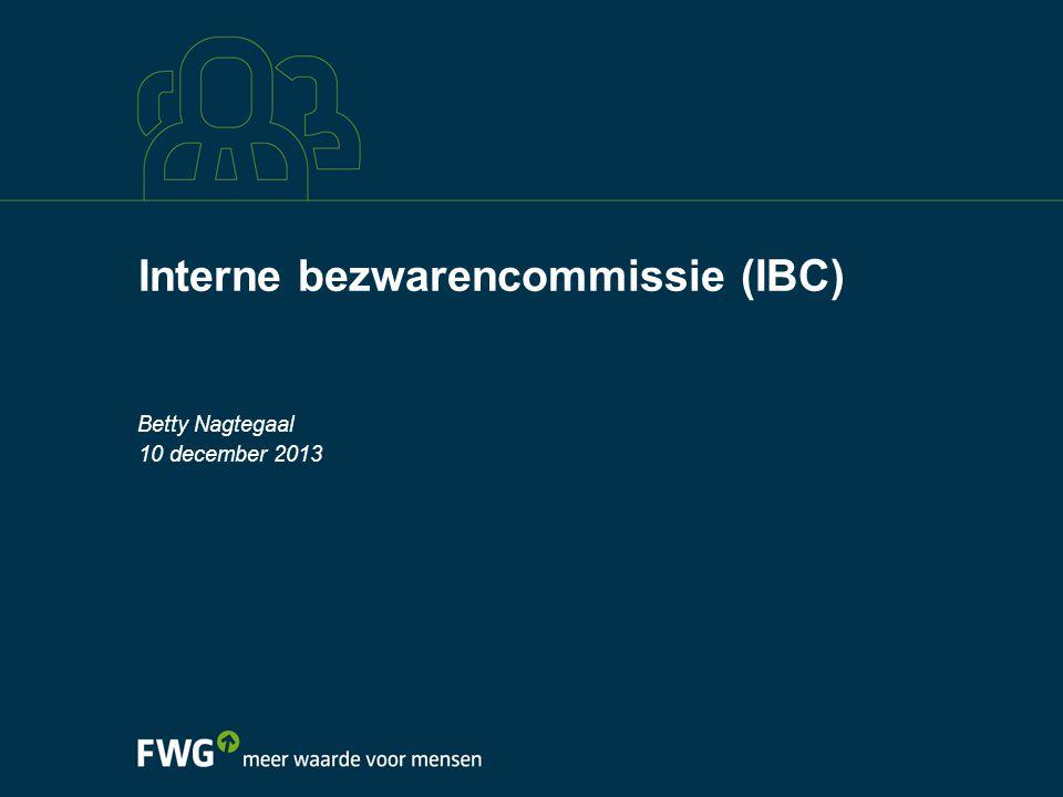 Interne bezwarencommissie (IBC)