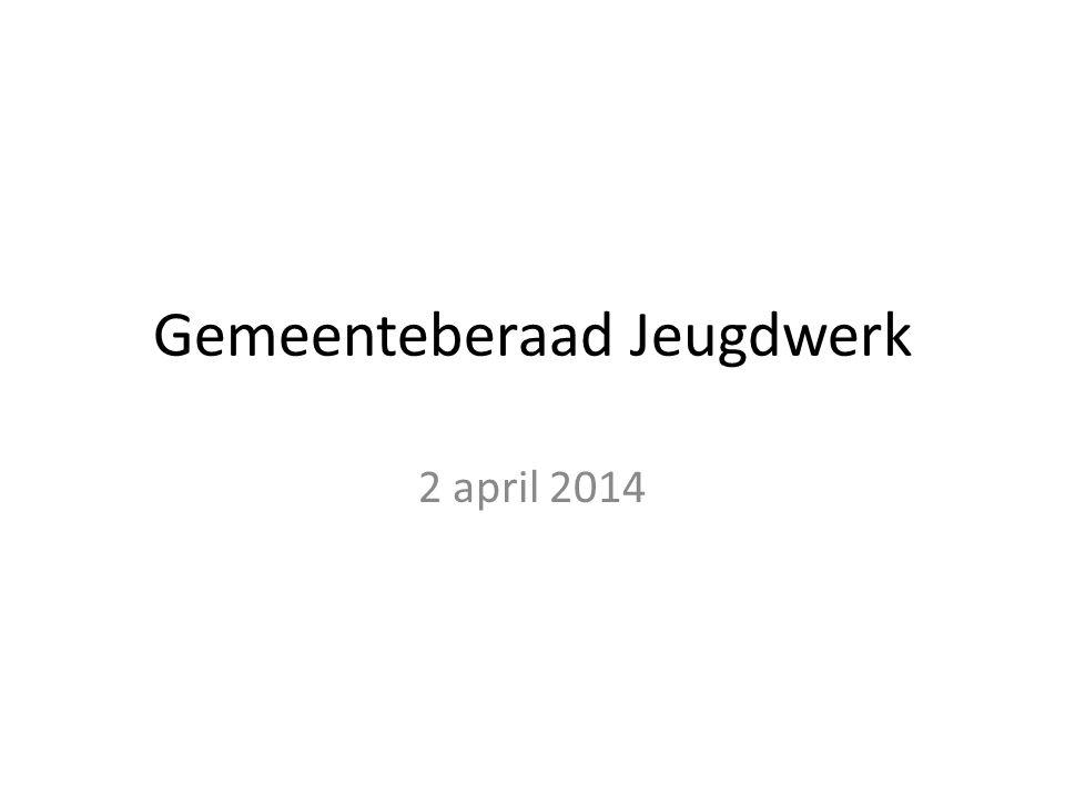 Gemeenteberaad Jeugdwerk