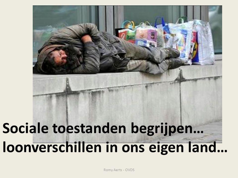 Sociale toestanden begrijpen… loonverschillen in ons eigen land…