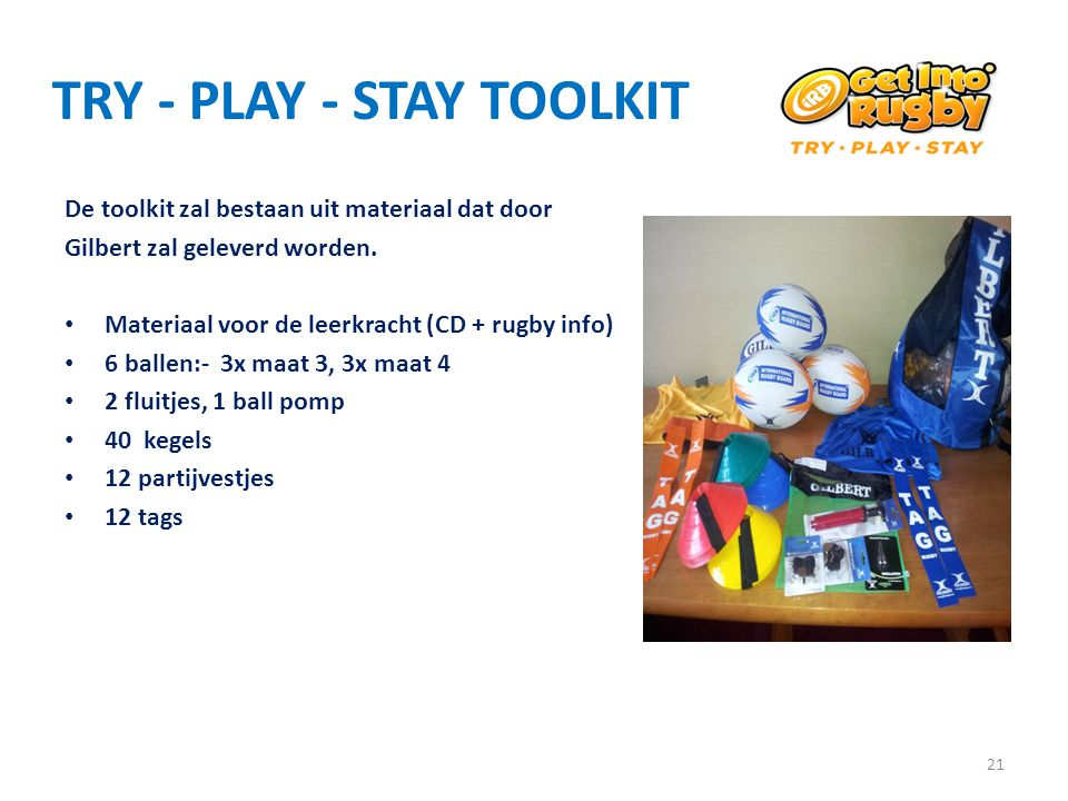 TRY - PLAY - STAY TOOLKIT