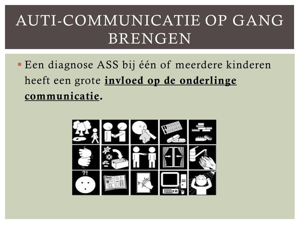 Auti-communicatie op gang brengen