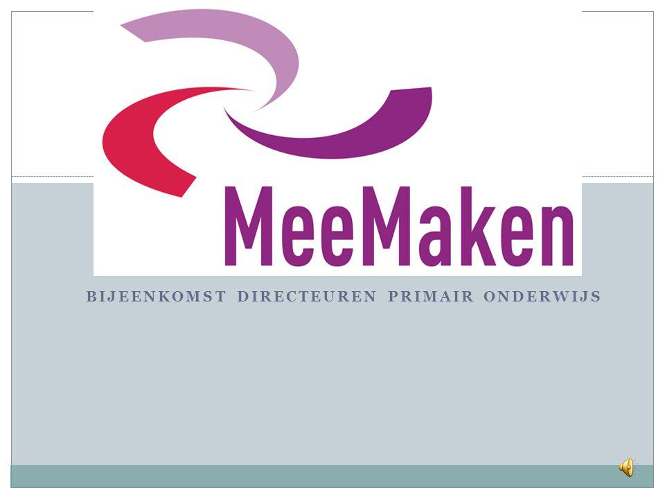 Bijeenkomst directeuren Primair Onderwijs