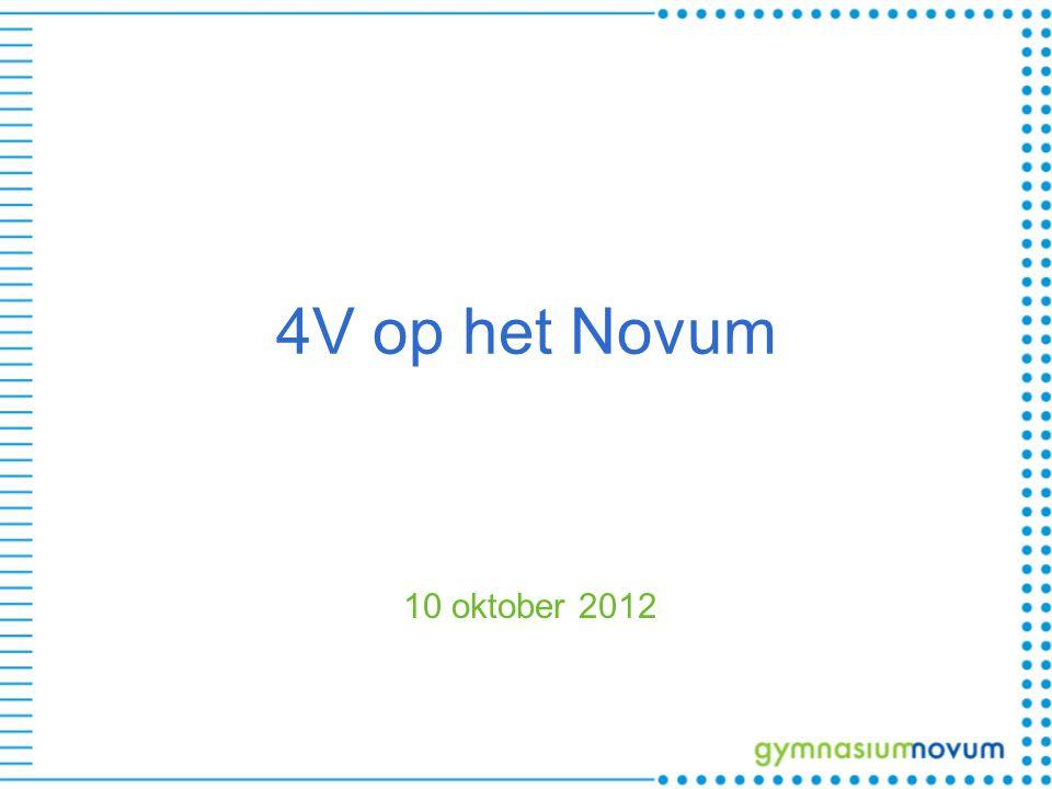 4V op het Novum 10 oktober 2012