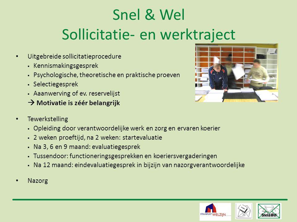 Snel & Wel Sollicitatie- en werktraject