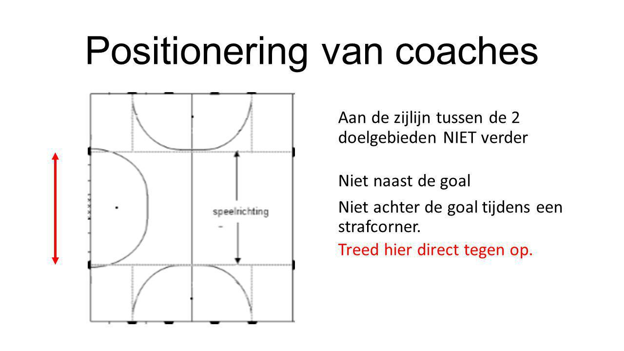Positionering van coaches