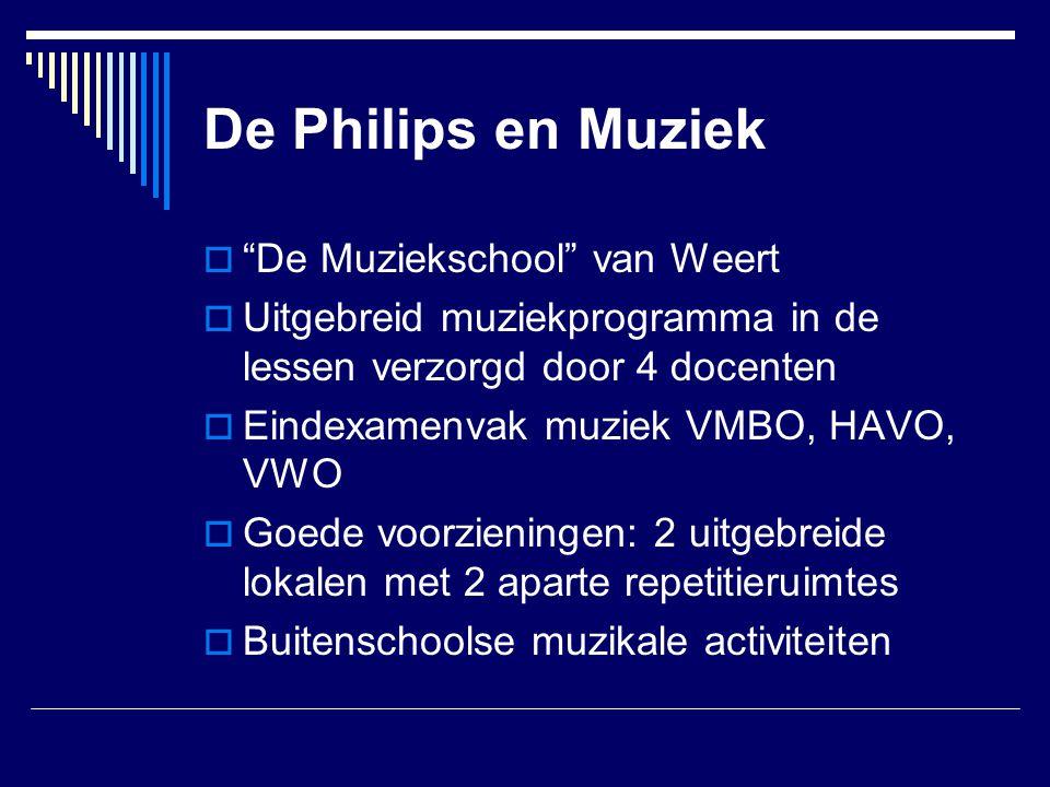 De Philips en Muziek De Muziekschool van Weert