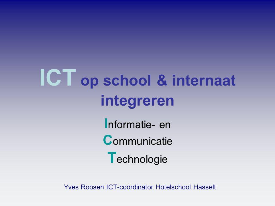 ICT op school & internaat integreren