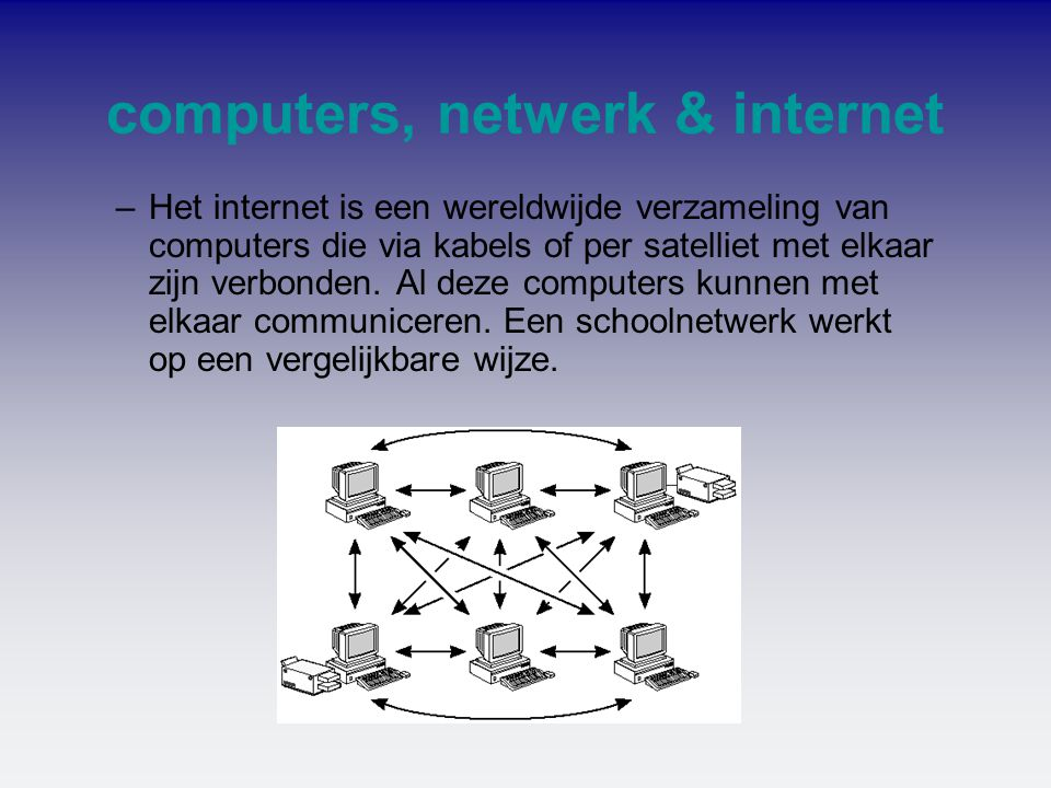 computers, netwerk & internet