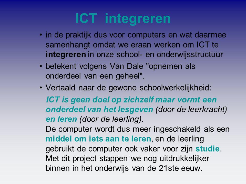 ICT integreren