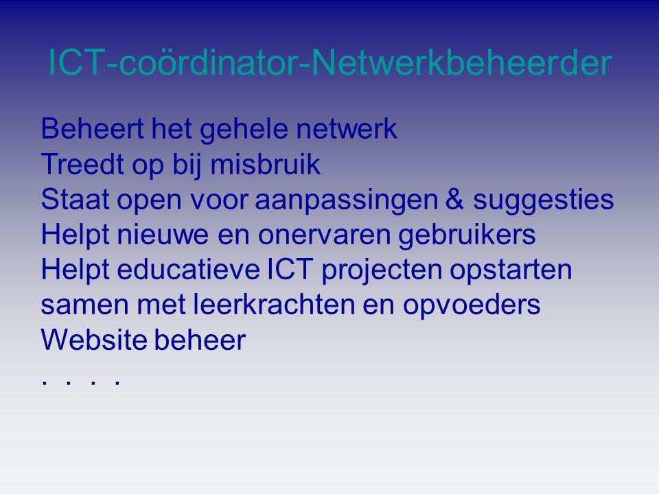 ICT-coördinator-Netwerkbeheerder