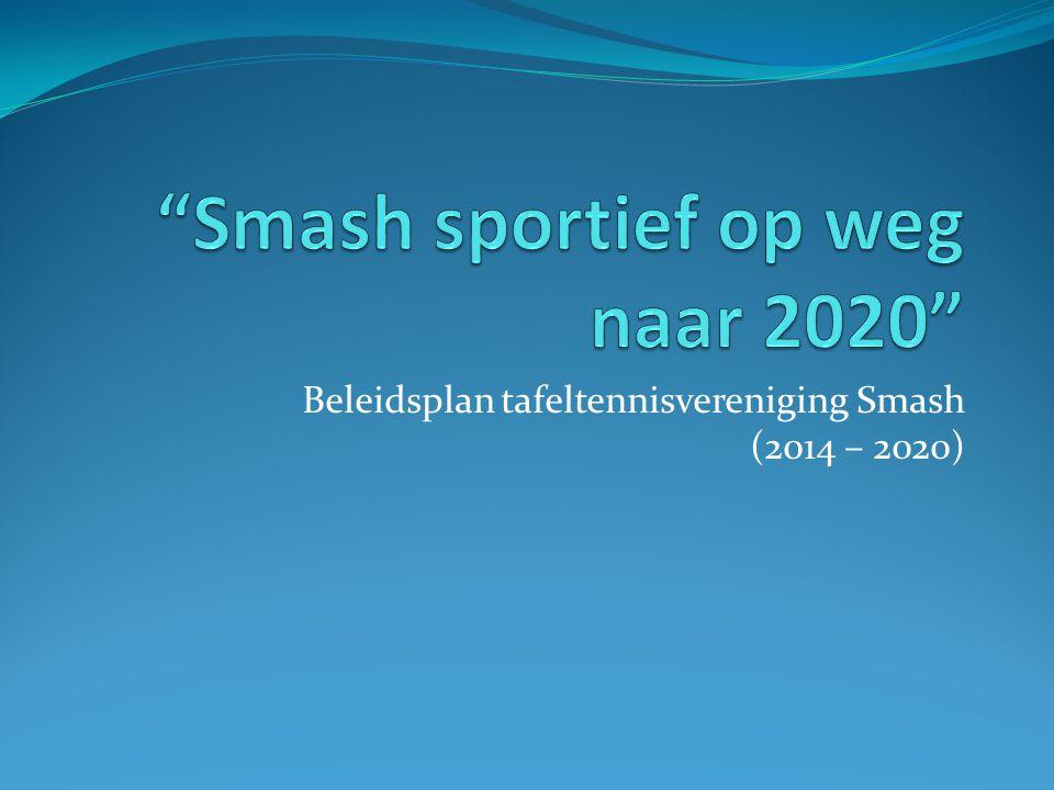 Smash sportief op weg naar 2020