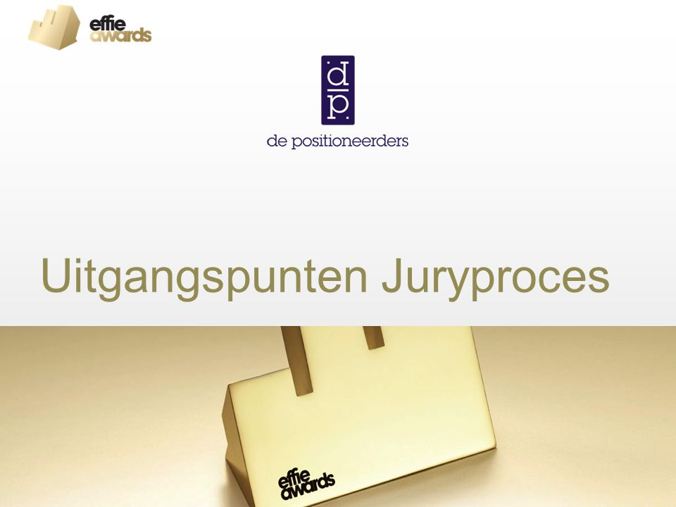 Uitgangspunten Juryproces