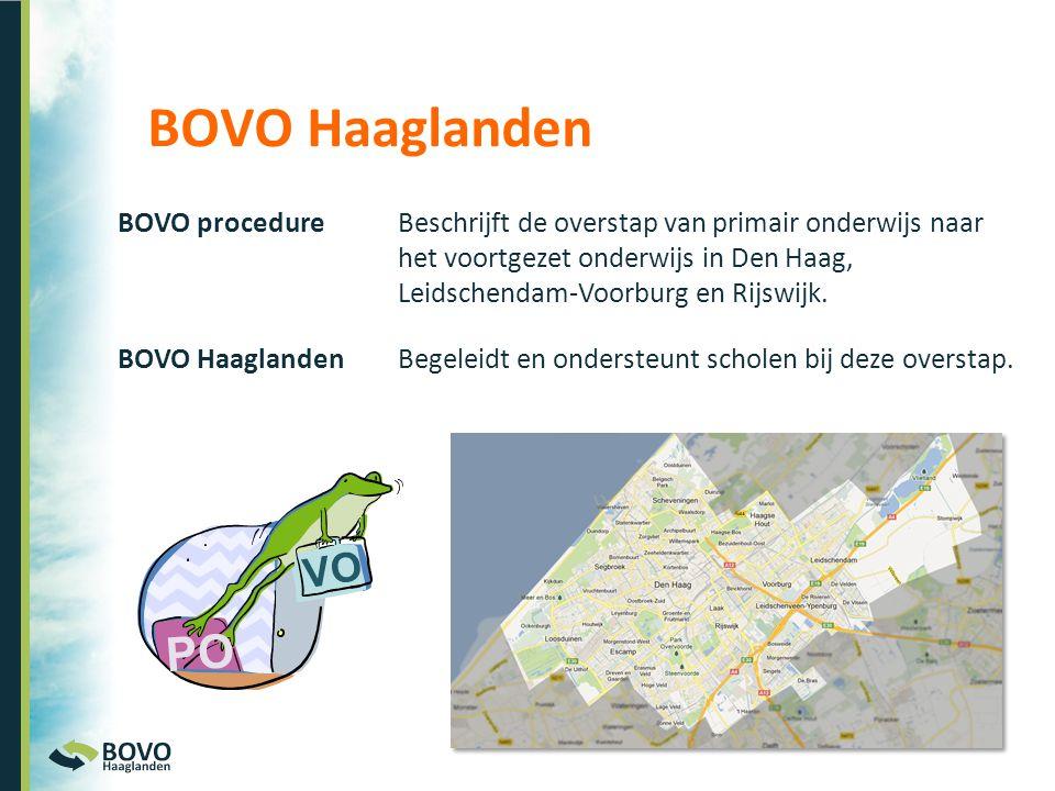 BOVO Haaglanden PO VO BOVO procedure