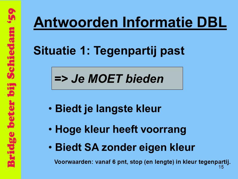 Antwoorden Informatie DBL
