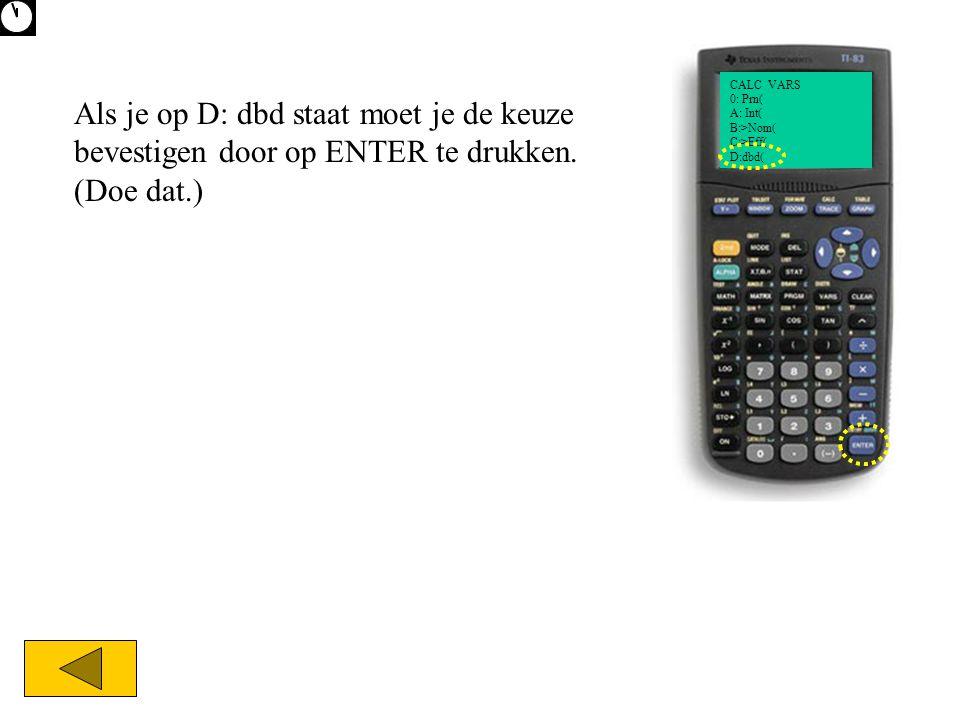 CALC VARS 0: Prn( A: Int( B:>Nom( C:>Eff( D:dbd(