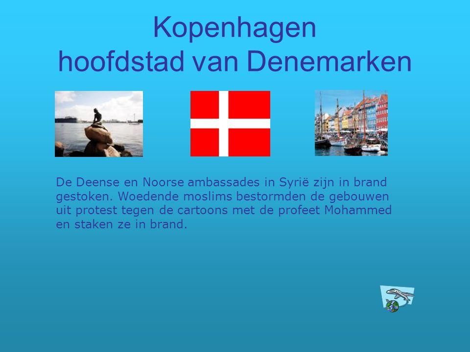 Kopenhagen hoofdstad van Denemarken