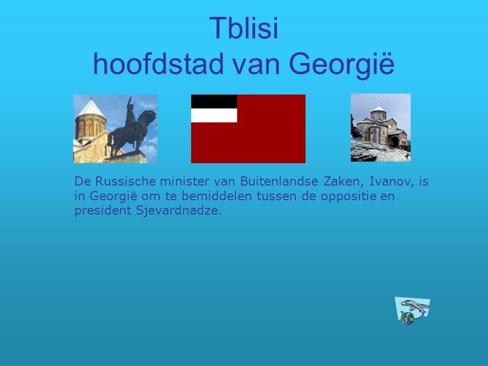 Tblisi hoofdstad van Georgië