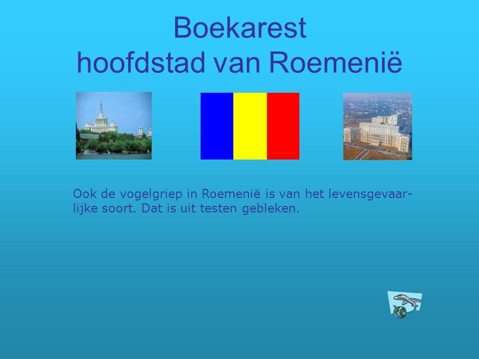 Boekarest hoofdstad van Roemenië