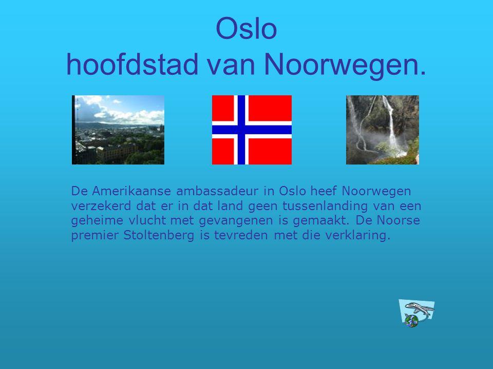 Oslo hoofdstad van Noorwegen.