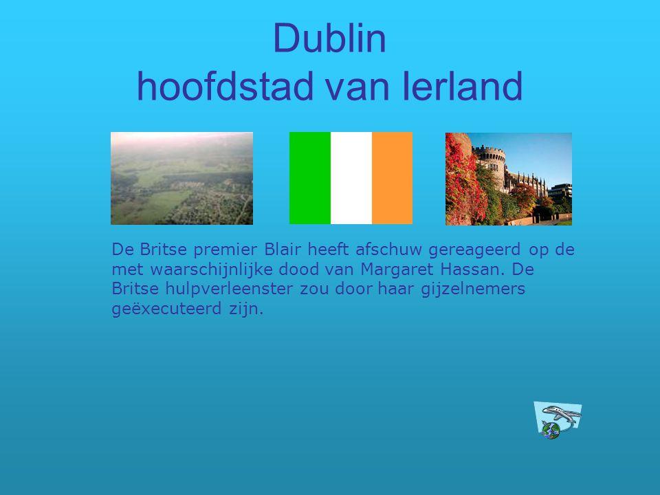Dublin hoofdstad van Ierland
