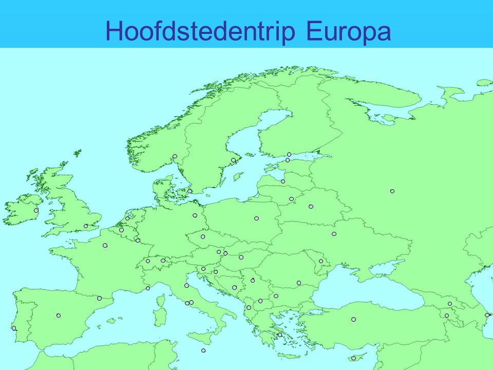 Hoofdstedentrip Europa