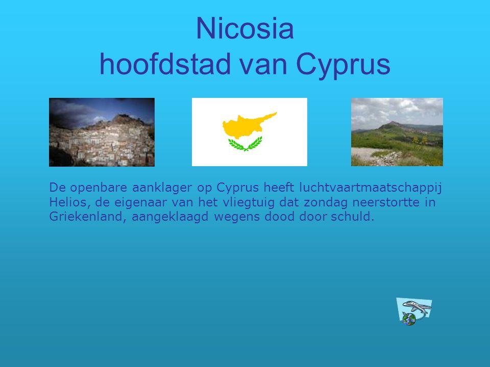 Nicosia hoofdstad van Cyprus