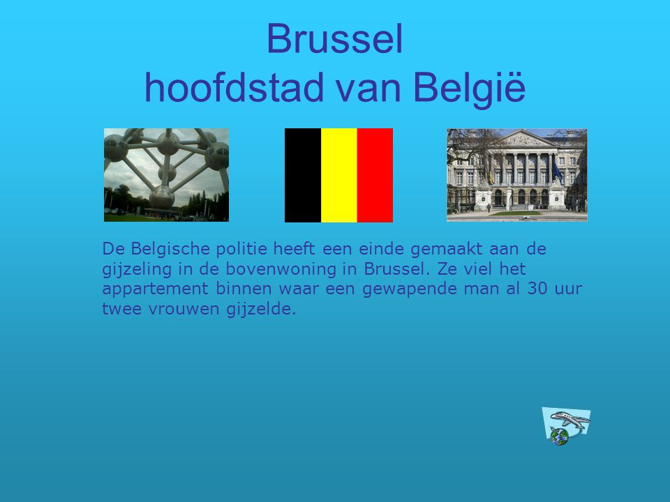Brussel hoofdstad van België