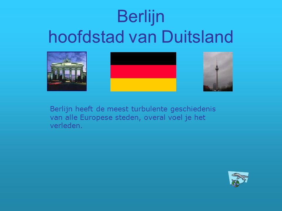 Berlijn hoofdstad van Duitsland