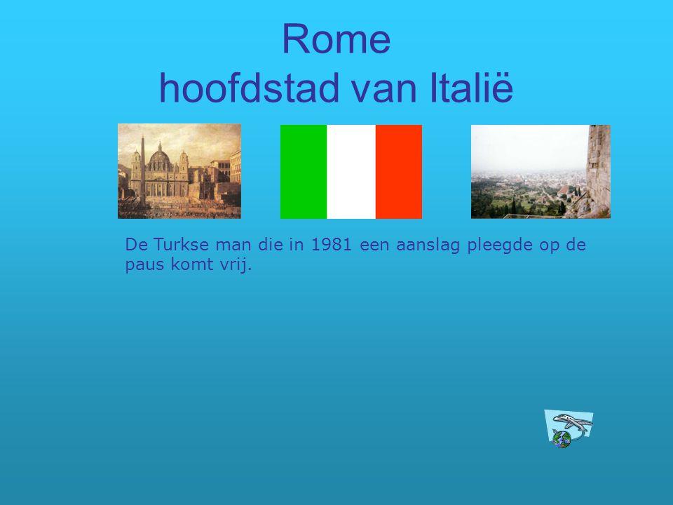 Rome hoofdstad van Italië