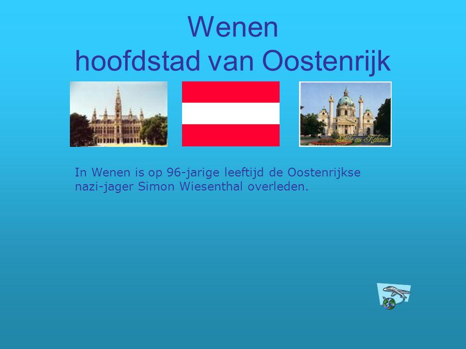 Wenen hoofdstad van Oostenrijk