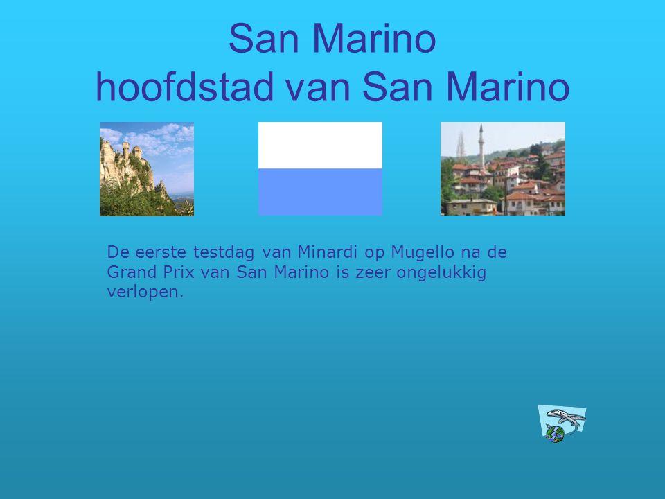 San Marino hoofdstad van San Marino