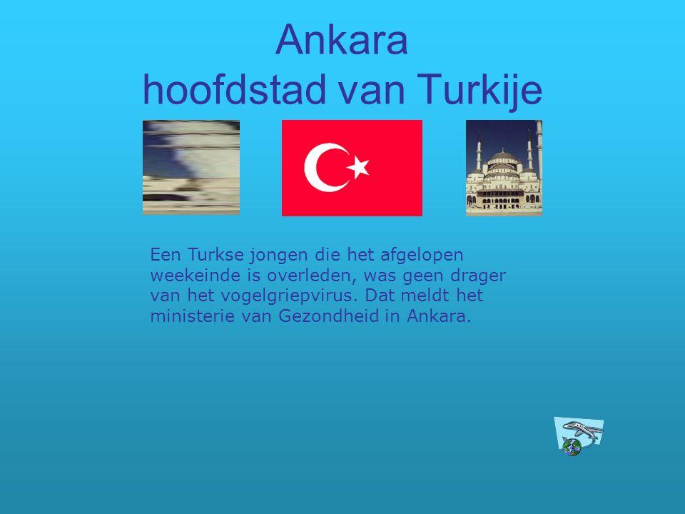 Ankara hoofdstad van Turkije