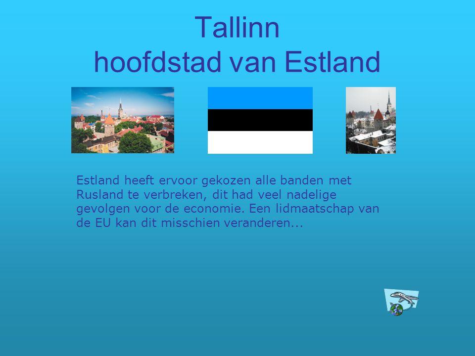 Tallinn hoofdstad van Estland