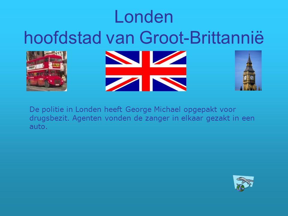 Londen hoofdstad van Groot-Brittannië