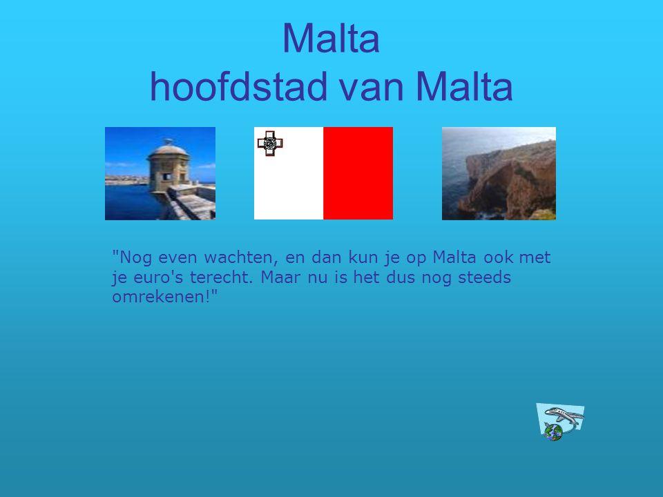Malta hoofdstad van Malta