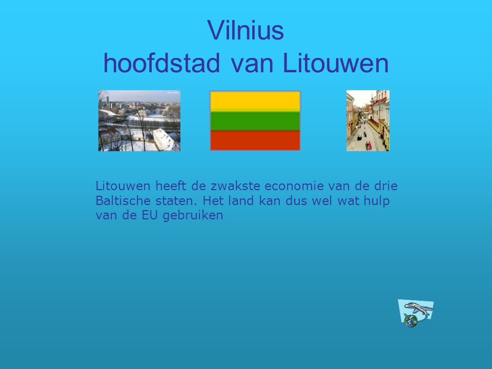 Vilnius hoofdstad van Litouwen