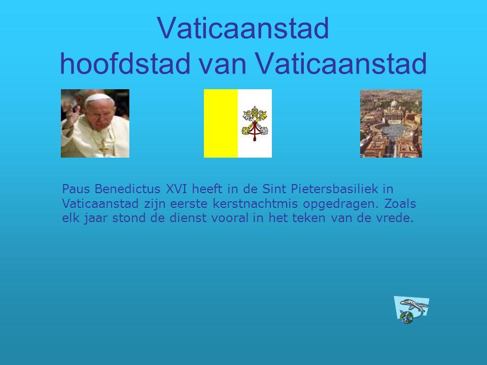 Vaticaanstad hoofdstad van Vaticaanstad