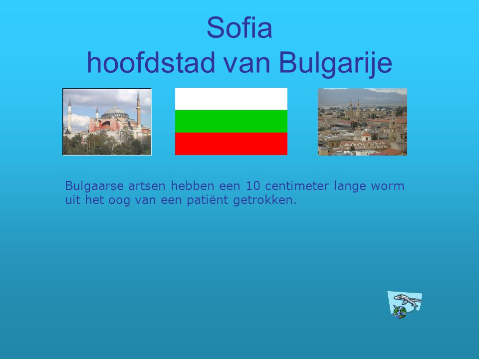 Sofia hoofdstad van Bulgarije