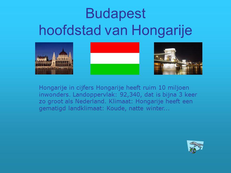 Budapest hoofdstad van Hongarije