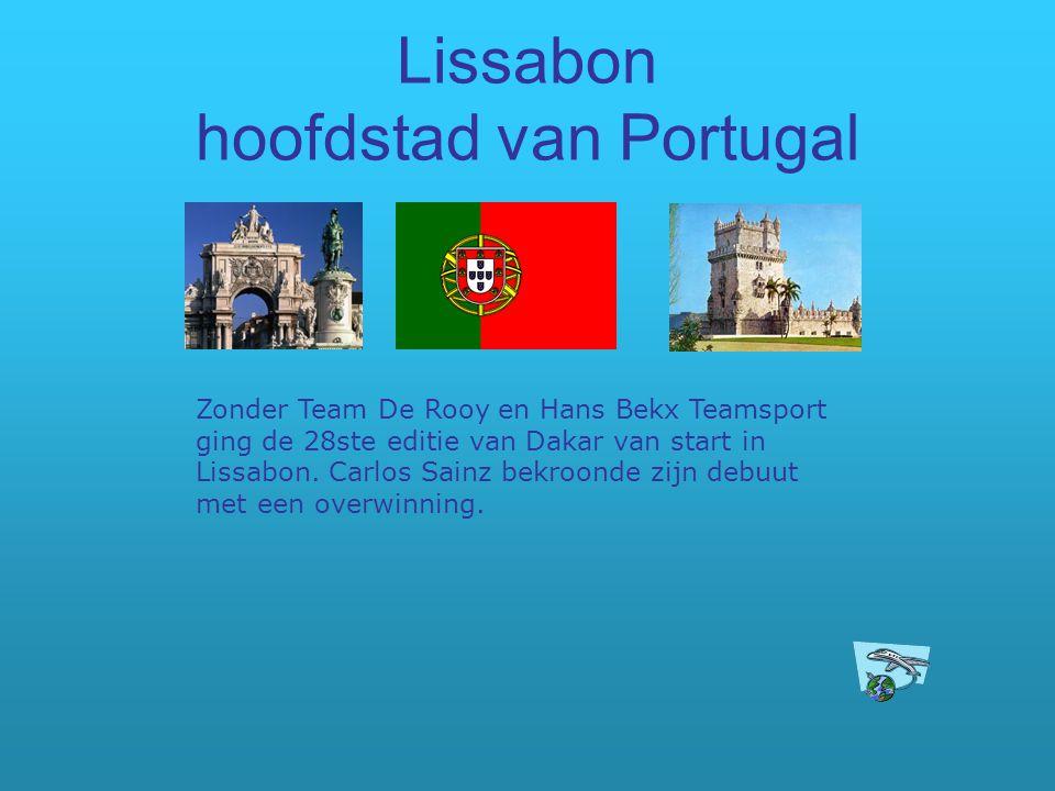Lissabon hoofdstad van Portugal