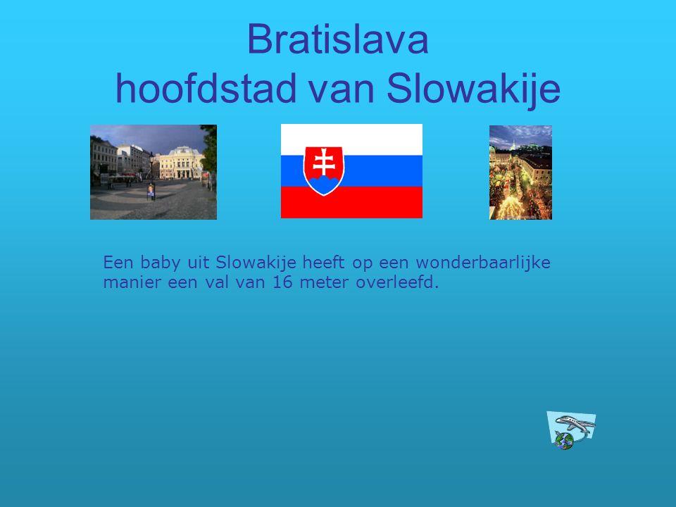 Bratislava hoofdstad van Slowakije