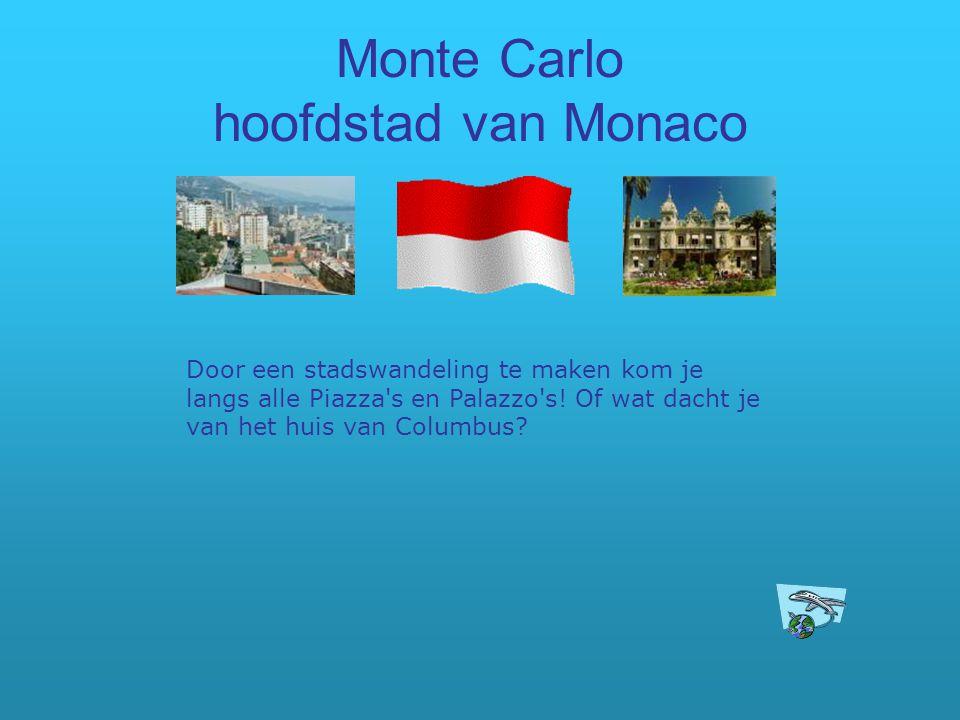 Monte Carlo hoofdstad van Monaco