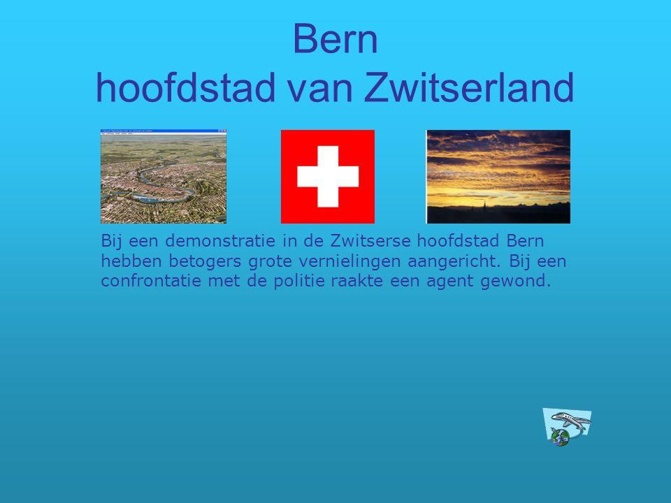 Bern hoofdstad van Zwitserland