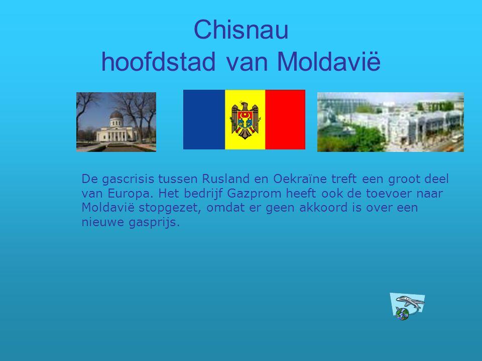 Chisnau hoofdstad van Moldavië