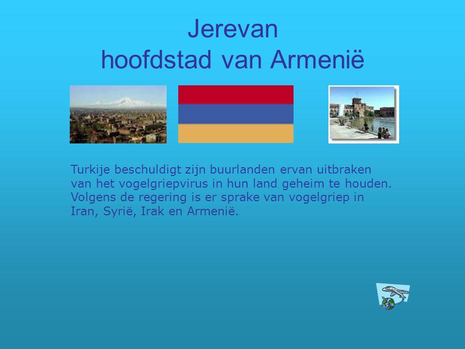 Jerevan hoofdstad van Armenië